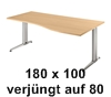 180 x 100 cm Schräg