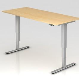 Schreibtisch Hammerbacher XDSM 2E ahorn,elektrisch 200 x100 cm