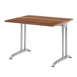Schreibtisch B-Serie Zwetschge 80 x 80 cm