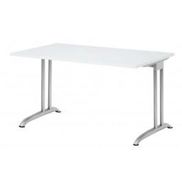 Hammerbacher BS12 Schreibtisch B-Serie Weiß 120 x 80 cm