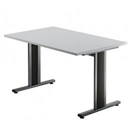 Hammerbacher TS12 Schreibtisch T-Serie Grau