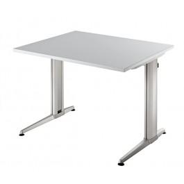 Schreibtisch XS 08 Grau 80 x 80 cm