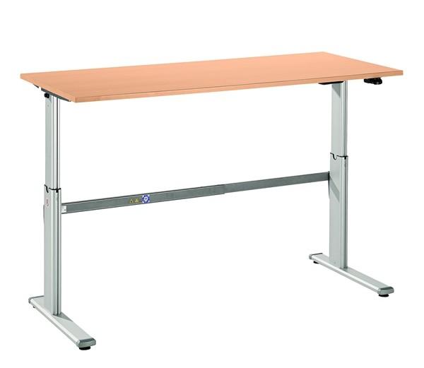 Hammerbacher schreibtisch xd16 160 x 80 elektrisch for Schreibtisch 130