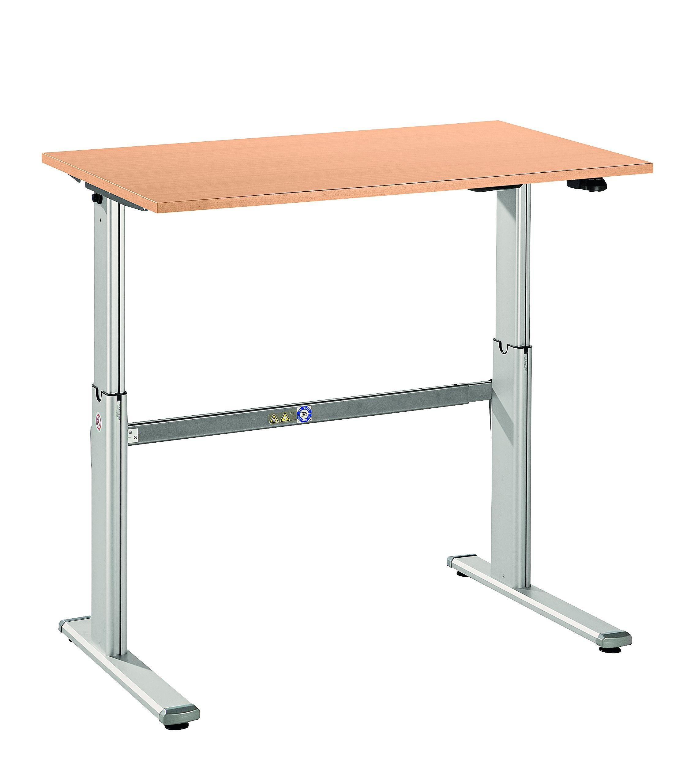 Schreibtisch Büro Höhenverstellbar ~ Hammerbacher XM 120 Schreibtisch 120 x 80 elektrisch höhenverstellbar